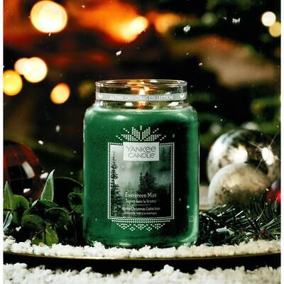 Yankee Candle Evergreen Mist Alpine Christmas Collection Large 623g