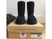 Uggs Classic short boots.