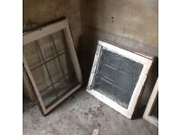 Collection of leaded windows