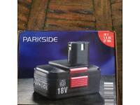 Park side 18v battery