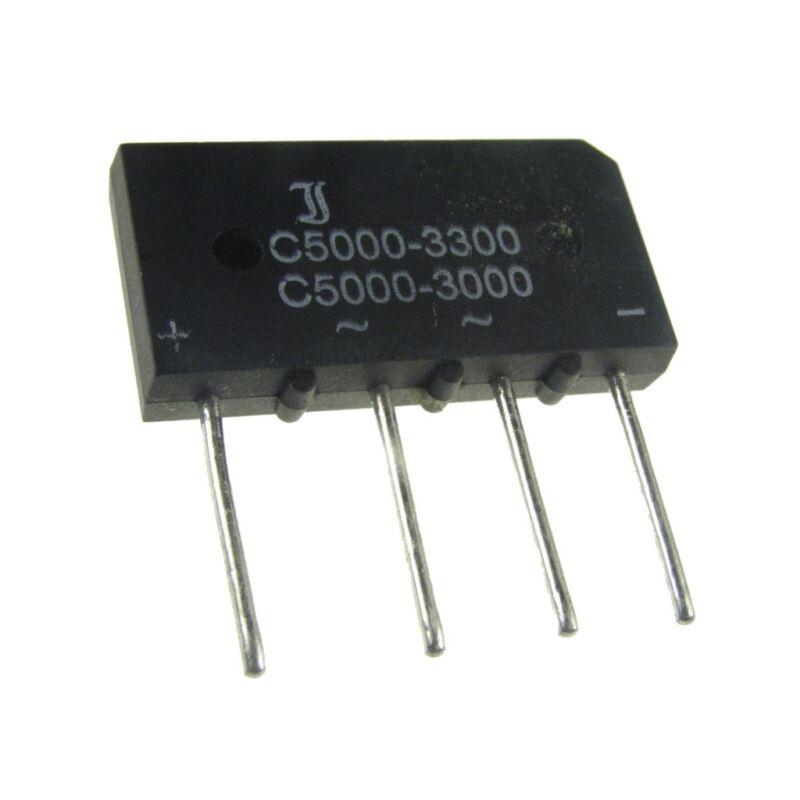 8 Brückengleichrichter 250V 5A B250C5000 Gleichrichter B250C5000-3300 858711