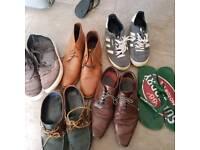 Mens size 10 footwear bundle £2 the lot