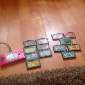 Micro Gameboy and 13 Games, Pokemon, Mario ect