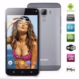 BLUBOO Xfire 2 Android 5.1 Quad Core 8GB Dual SIM 3G Mobile Smartphon slim ,decent