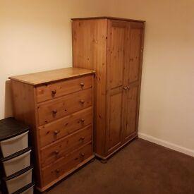 Wardrobe £40 drawer £60 or both £80