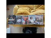 Top Gear DVDs 1 boxset plus 4 other/James May