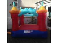 Pop up adventure bouncy castle