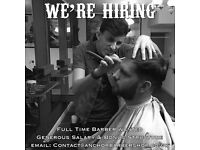 BARBER JOB AVAILABLE - £80 to £100 a day d.o.e - FULL TIME - DEPTFORD, LONDON