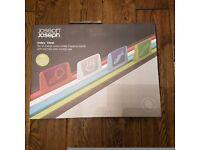 Joseph Joseph Index Steel 4-Piece Chopping Board Set - Steel – BNIB