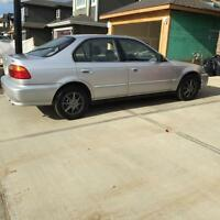 Honda civic with Remote Starter