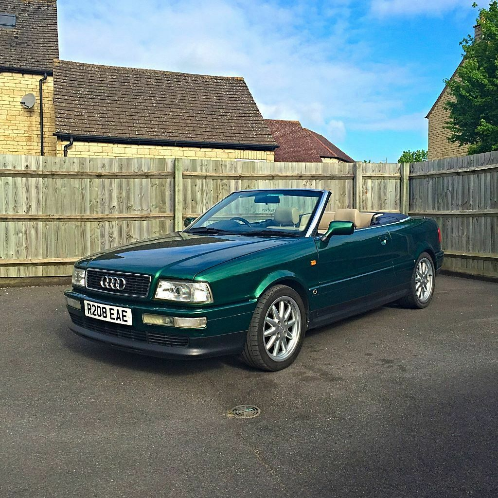 1997 2 6 audi 80 cabriolet with hardtop in carterton oxfordshire. Cars Review. Best American Auto & Cars Review