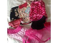 Bundle 30cm Dog Coat Clothes Dress Pet Shop Kennels