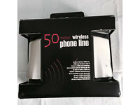 Brand new boxed 50 meter wireless phone line, quick sale at only £35,no time wasters please