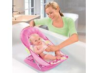 Summer Infant Deluxe Pink Bather Baby Bath - New + Unused RRP £17.99