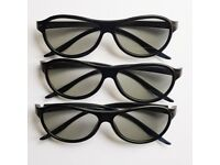 3D Glasses for passive 3D viewing (5 pairs)