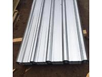 2.4M Galvanised Box Profile Roof Sheets