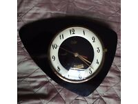French Vintage Design Wall Clock, Odo Sequin Bijouterie Nyons