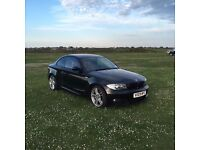 BMW 123d M Sport - Black with Coral Red Interior - FSH