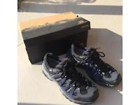Salomon tsingy gtx men's walking shoes size 7-8