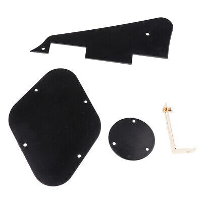 Kunststoff Pickguard mit Hohlraumabdeckung Schalterabdeckung für Les Paul