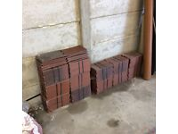 New classic red Rosemary roof tiles