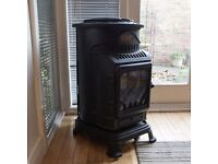 Calor Provence 3kw portable flueless gas stove heater - Matt Black - RRP £269