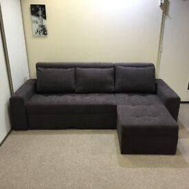 "New Corner Sofa Bed ""VERONA"" with storage"