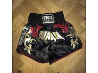 Muay Thai shorts.