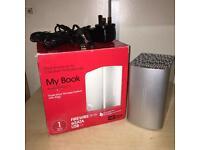 "1TB ""My Book Studio 2"" external hard drive (windows+mac)"