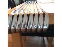 Mizuno MX 20 3-PW Golf Clubs, R300 Shafts, Midsize Grips