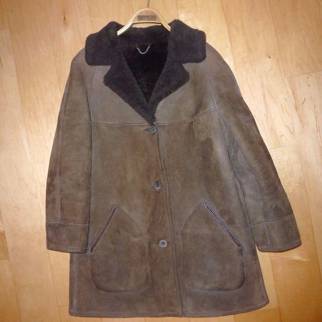 Morelands Aristocrat Sheepskin Ladies Coat Size 16