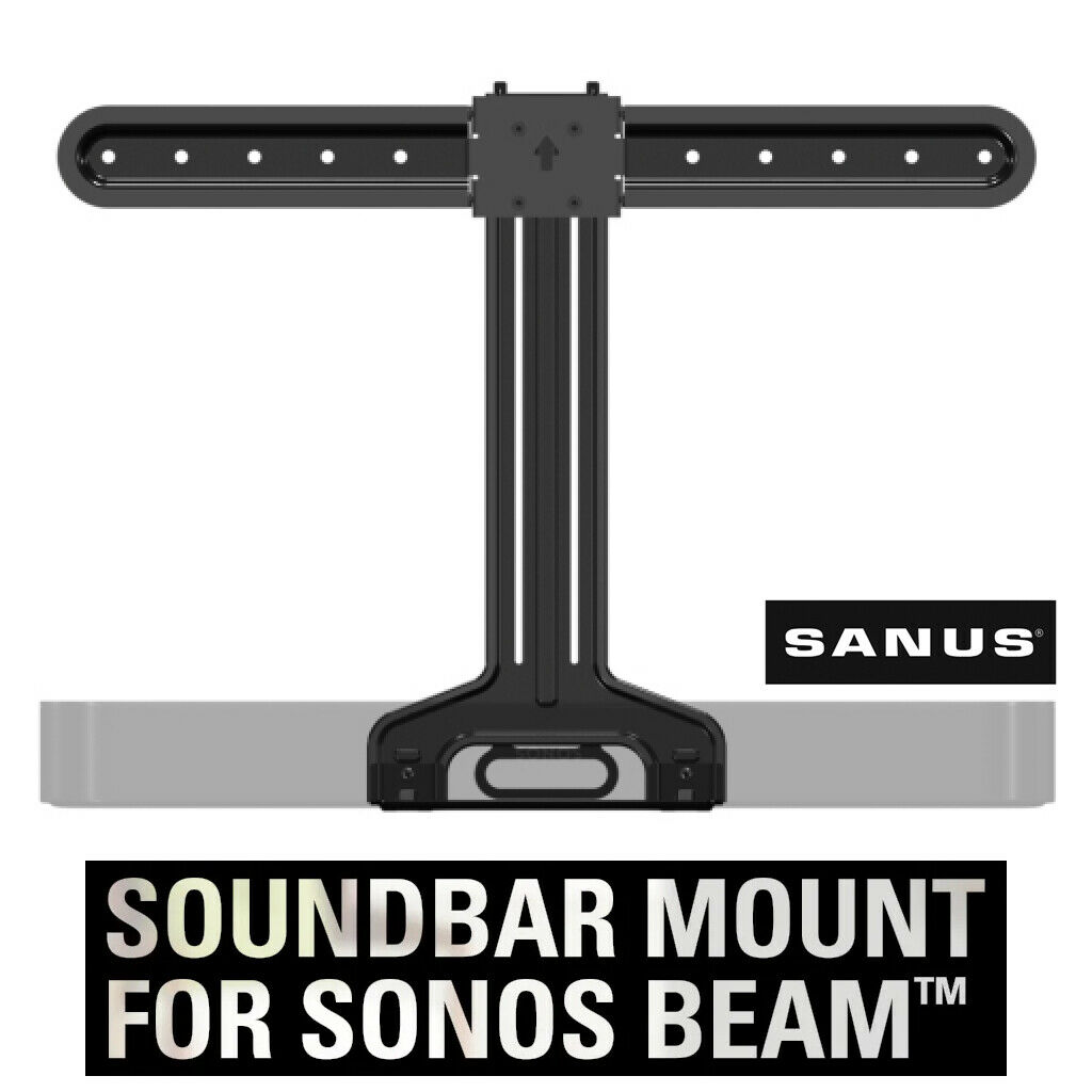 SANUS WSSBM1-B2 SONOS Beam Soundbar TV Mount for VESA TVs 37