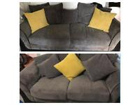 3 seater and 2 seater dfs sofa