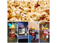 Popcorn and Candyfloss Machines for Hire in London