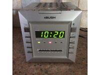 BUSH stereo alarm clock radio (CD not working). £2!