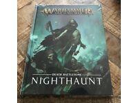 Age of Sigmar Nighthaunt Battletome Warhammer