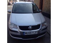 Volkswagen Touran 1.9 TDI S 5dr HPI CLEAR ATTENTION PCO DRIVERS(7 Seats)