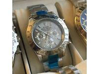 Rolex watches ( datejust and Daytona )