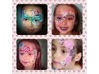 Luna Sparkles face painting