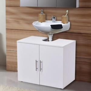 Non Pedestal Under Sink Bathroom Storage Vanity Cabinet Space Saver Organizer - BRAND NEW - FREE SHIPPING