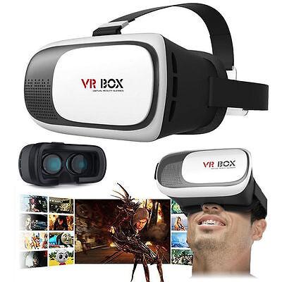 3D Virtual Reality VR Glasses Headset Box Helmet Fr SamSung S5 S6 Edge S7 Edge