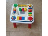 Fisher price toddler activity table