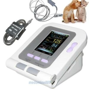 Vet/Animal/Cat/Dog use blood pressure Monitor With Tongue SPO2 Probe PC Software - BRAND NEW - FREE SHIPPING