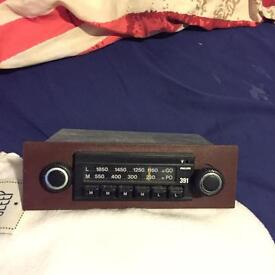 Early Vauxhall nova chevette cavalier mk1 radio standard radio