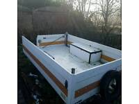 car house hold rubish trailer