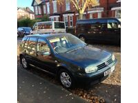 VW Golf Match 1.6L petrol for sale. £1,695