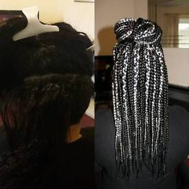 Afro Hairdresser: Box Braid Offer £40 for a limited time only