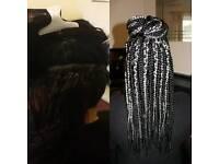 Afro Hairdresser: Box Braids, Rope Twist...