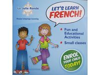 French classes for primary children