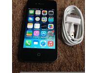 Apple iPhone 4 8gb White/Black UNLOCKED